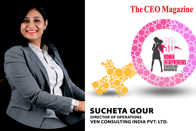 Sucheta Gour, Woman Behind Ven Consulting India Pvt. Ltd. (Vcipl) Revolutionizing The Staffing Realm In Non-It Engineering Industry