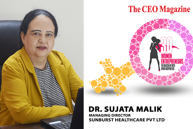 Dr. Sujata Malik, Changing The Face of Healthcare from Home with Brainchild Endeavour Sunburst Healthcare