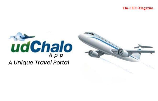 """""""UdChalo App"""", A Unique Travel Portal"""