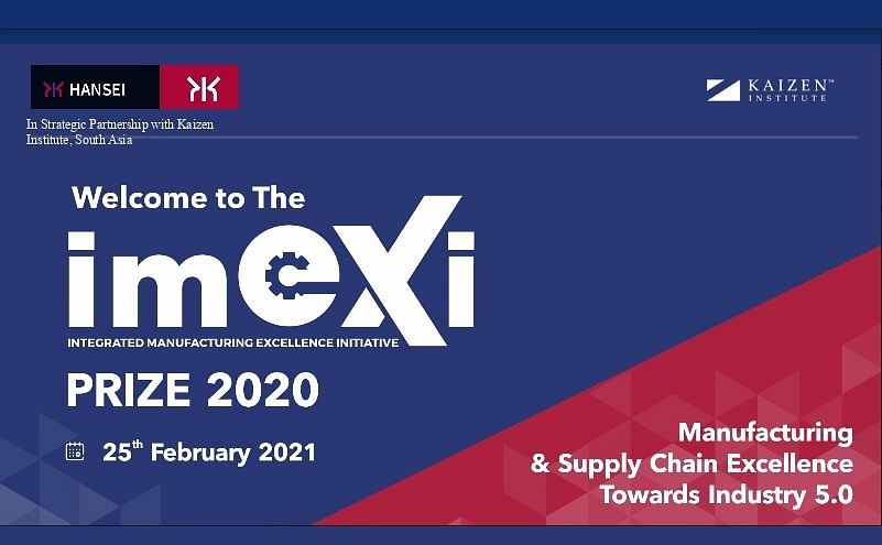Integrated Manufacturing Excellence Initiative (IMexI Prize 2020)