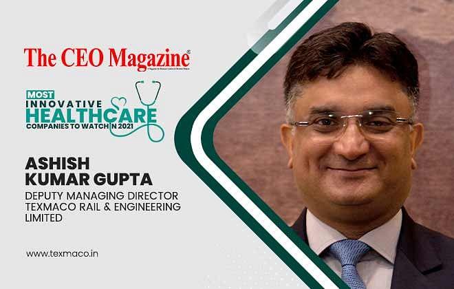 Ashish Kumar Gupta: Deputy Managing Director Texmaco