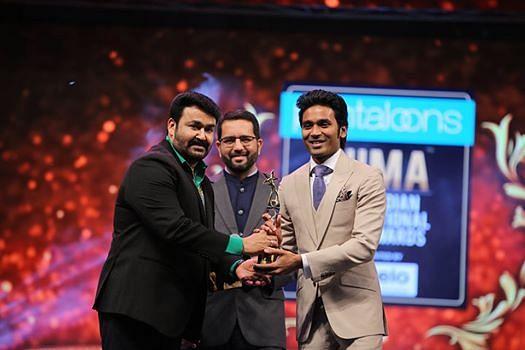 Best Actor – Dhanush (Film: Vada Chennai)