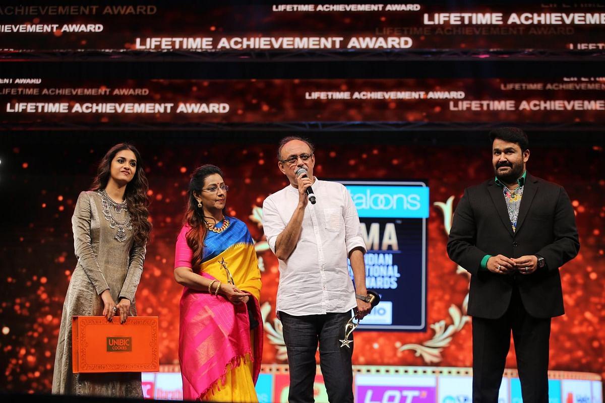 Life Time Achievement Award: Suresh Kumar and Menaka Suresh Kumar