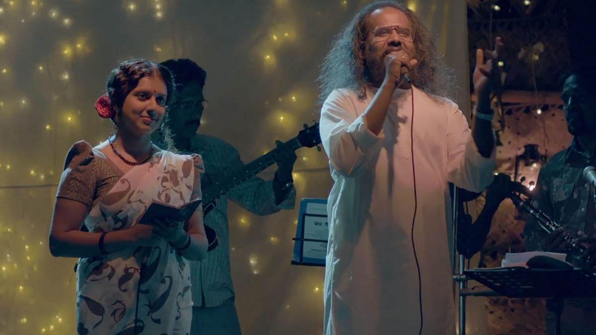 വിന്റേജ് ലുക്കില് ഹരീഷ് ശിവരാമകൃഷ്ണനും സിതാരയും; 'ചോല' പ്രോമോ സോങ്ങ്