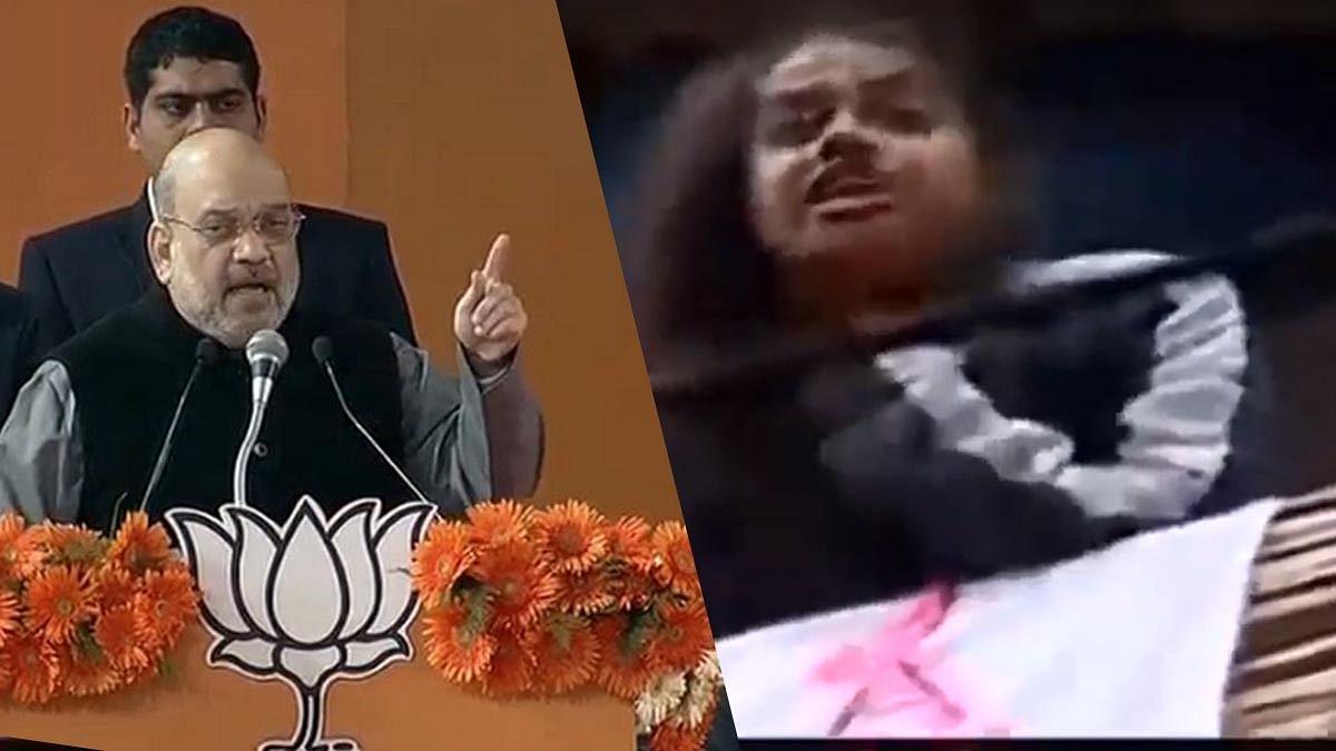 അമിത് ഷായ്ക്ക് ഗോ ബാക്ക് വിളിച്ച് പെണ്കുട്ടികള് ; പ്രതിഷേധം ഡല്ഹിയില് വീട് കയറിയുള്ള പ്രചാരണത്തിനിടെ
