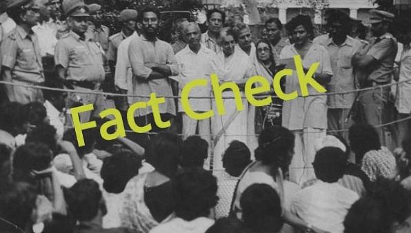 Fact Check : അന്ന് ഇന്ദിര പ്രധാനമന്ത്രിയല്ല, യെച്ചൂരിയെ രാജിവെപ്പിച്ചിട്ടില്ല, വായിക്കുന്നത് മാപ്പപേക്ഷയുമല്ല