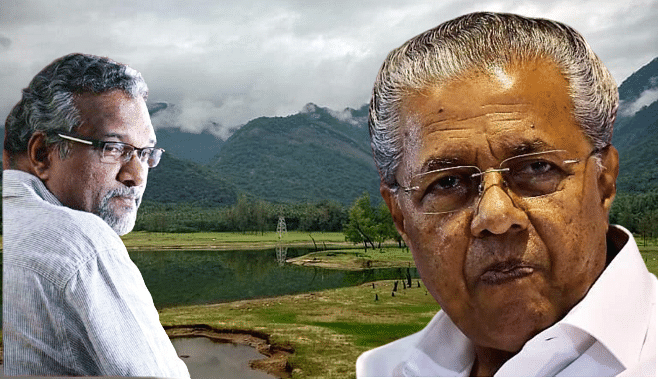 The largest quarry in Kerala starts at Chengottumala