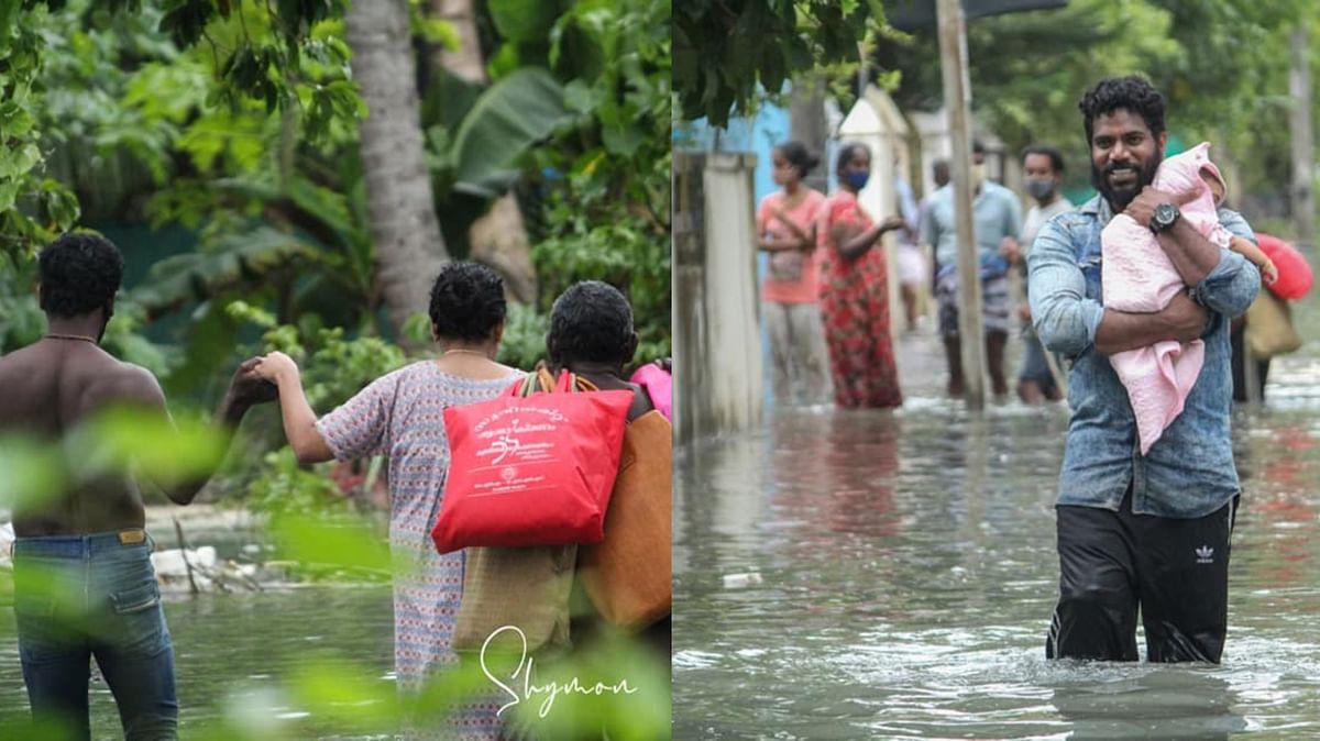 PHOTO STORY : കടല് ഇരച്ചുകയറി കണ്ണമാലി, കൊവിഡിനൊപ്പം തിരയാക്രമണ ദുരിതവും