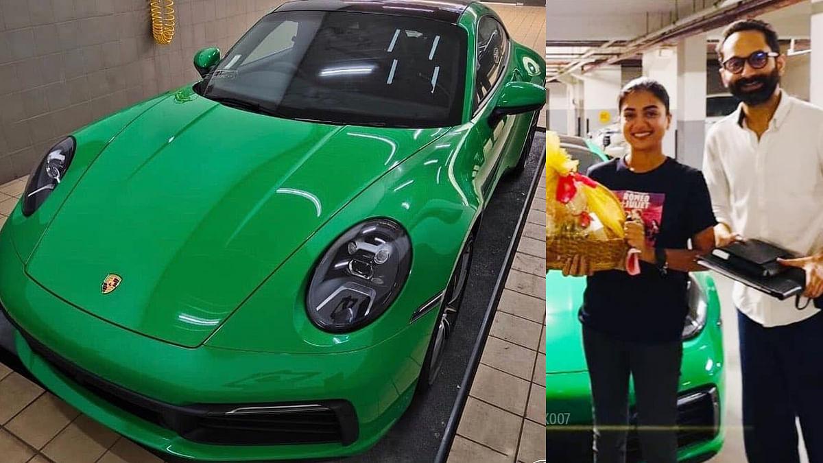 പൈതൺഗ്രീൻ നിറത്തിൽ പോർഷെ 911 കരേര, ഇന്ത്യയിൽ ഫഹദിന് മാത്രം