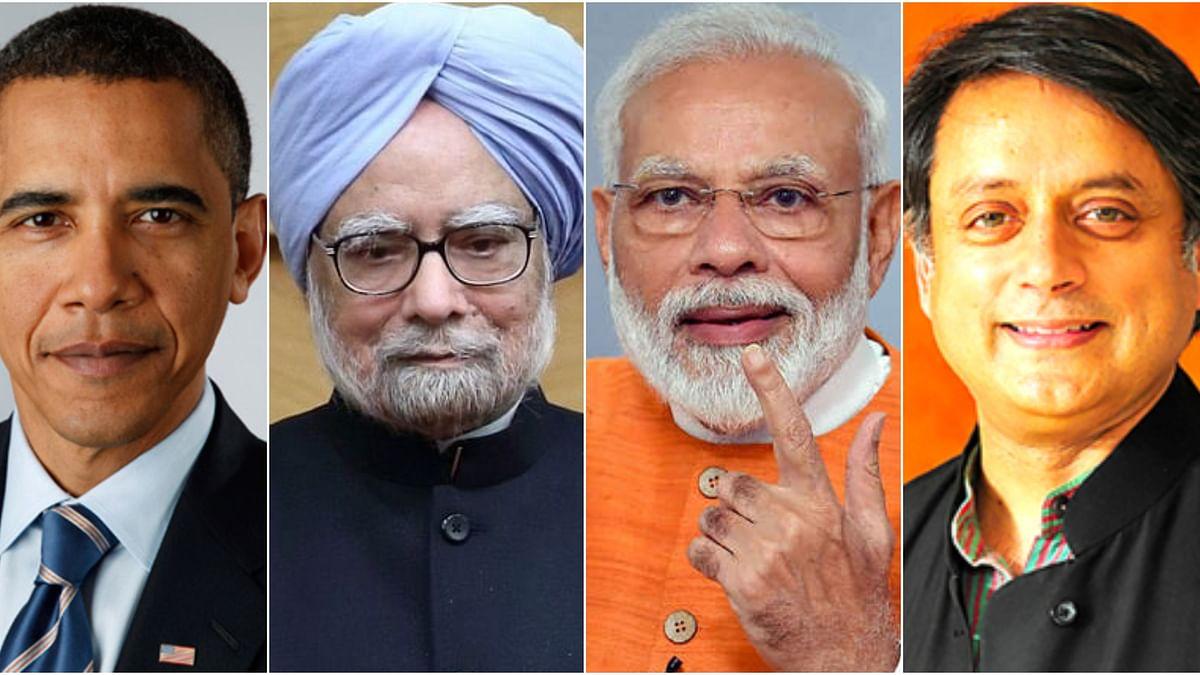 'ഒബാമ മോദിയെ പരാമര്ശിച്ചിട്ടേയില്ല, മന്മോഹന് സിംഗിനെ നന്നായി പ്രശംസിച്ചിട്ടുമുണ്ട്': ശശി തരൂര്