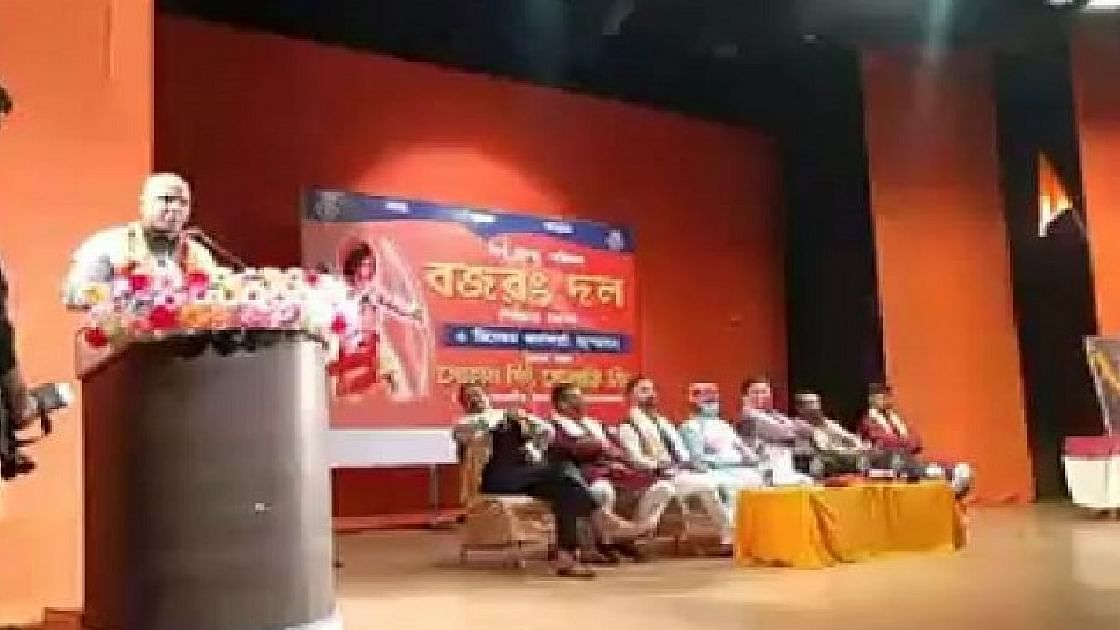 ഹിന്ദുക്കള് ക്രിസ്മസ് ആഘോഷത്തില് പങ്കെടുത്താല് 'തക്കതായ ശിക്ഷ' നല്കുമെന്ന് ബജ് രംഗ്ദള് നേതാവ്