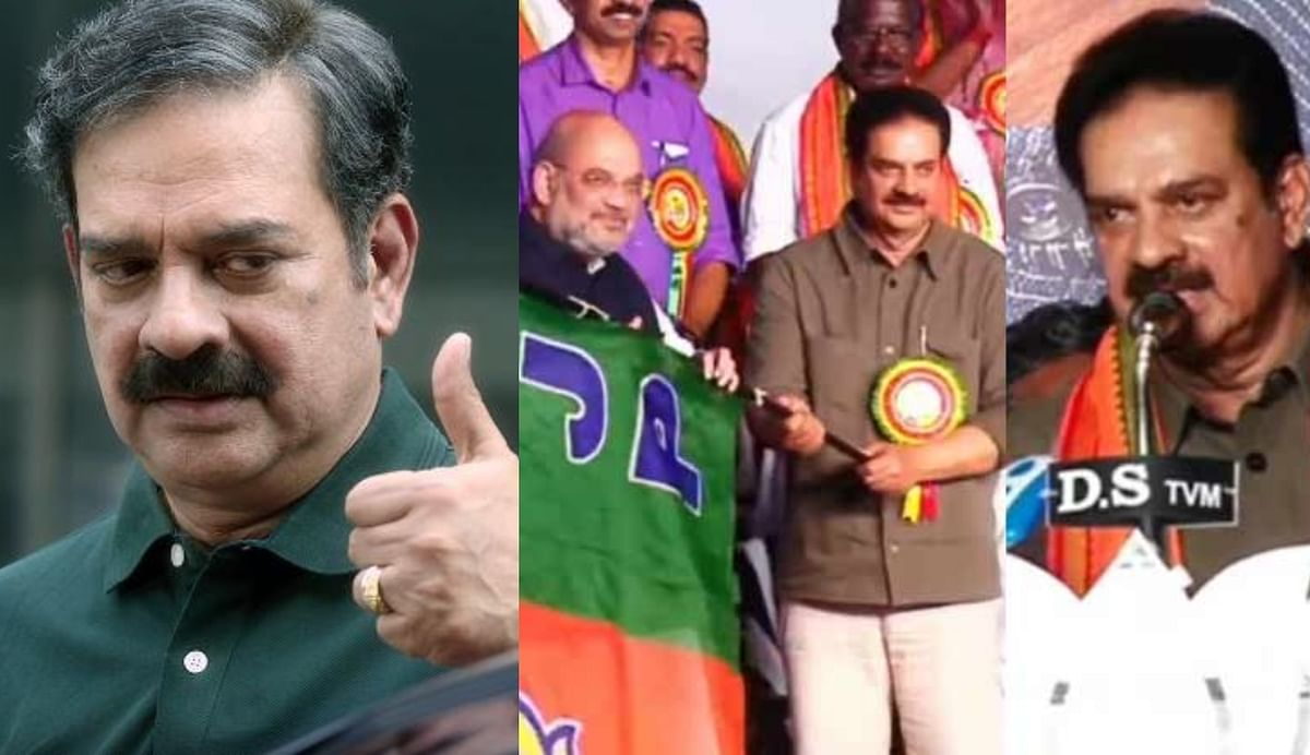 Kerala election: Actors  join BJP in the presence of Amit Shah