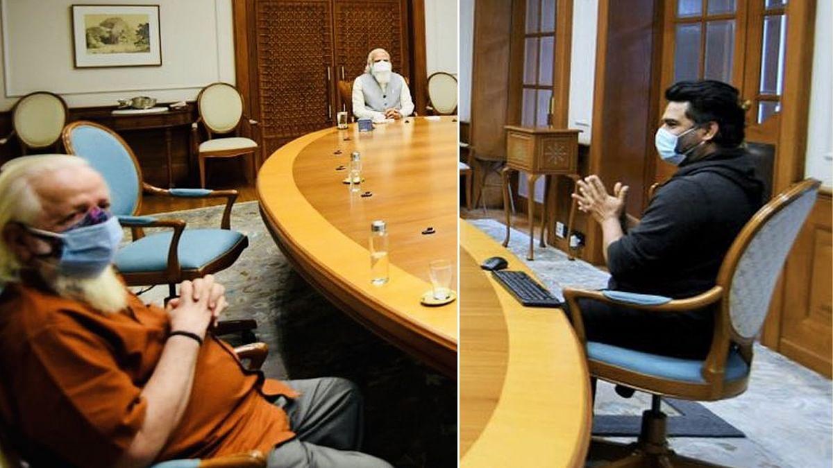 പ്രധാനമന്ത്രിയോടൊപ്പം നമ്പി നാരായണനും മാധവനും; 'റോക്കറ്ററി'ക്കുറിച്ചുള്ള മോദിയുടെ അഭിപ്രായം