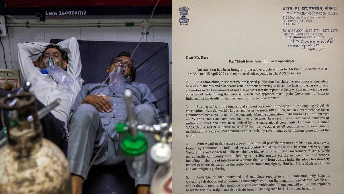 കോവിഡ് വ്യാപനം; തെറ്റിദ്ധരിപ്പിക്കുന്ന ലേഖനങ്ങൾ പ്രസിദ്ധീകരിക്കരുതെന്ന് അന്താരാഷ്ട്ര മാധ്യമങ്ങളോട് ഇന്ത്യ
