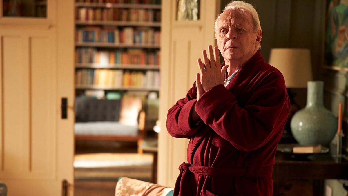 Sir Anthony Hopkins/ the father movie