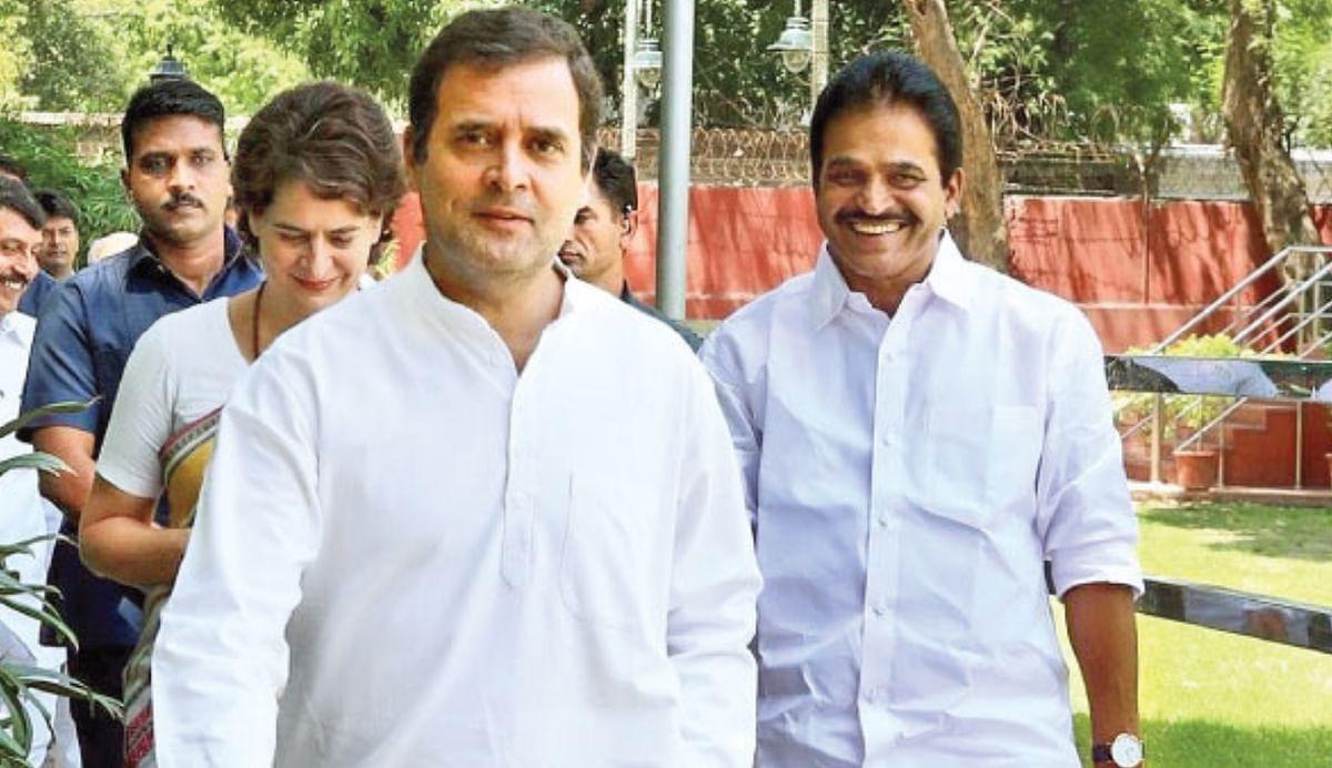 കെ.സി വേണുഗോപാല് ബി.ജെ.പി ഏജന്റെന്ന് സംശയം, രാഹുല് ഗാന്ധിയ്ക്ക് കത്ത്