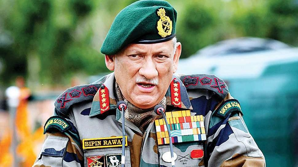 If Other Efforts With China Fail, Military Option Open: General Bipin Rawat