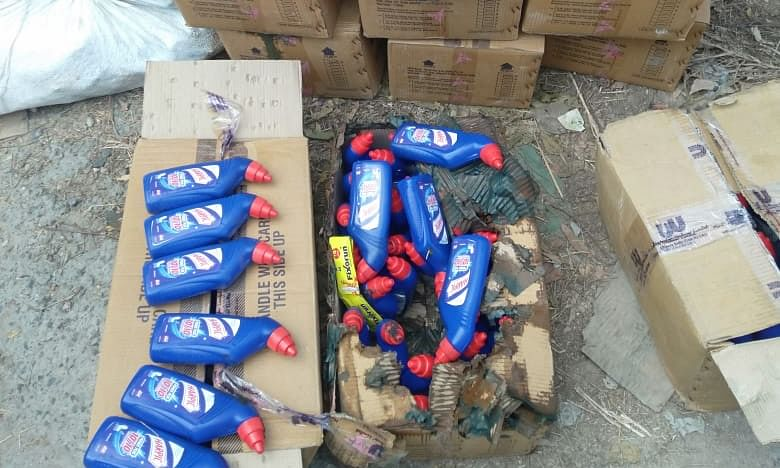 Noida Police Busts Racket Manufacturing Duplicate Hindustan Lever Limited Products