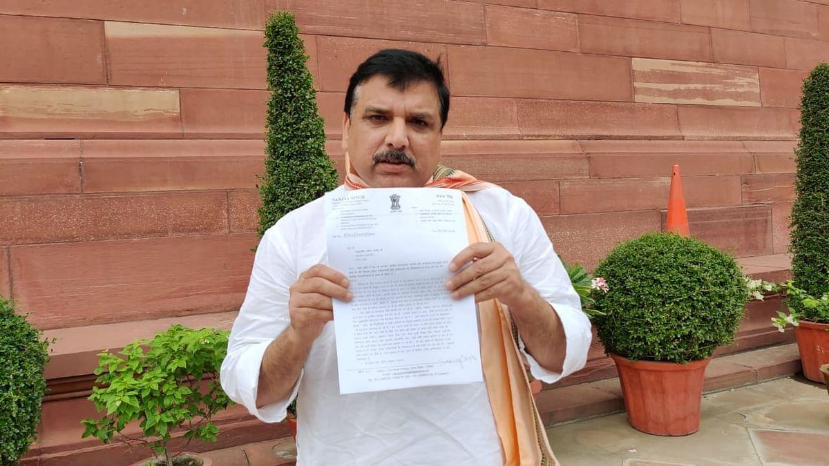 सांसद संजय सिंह ने मिर्ज़ापुर में तीन बच्चों की निर्मम हत्या को लेकर योगी को लिखा पत्र, सीबीआई जांच की मांग की