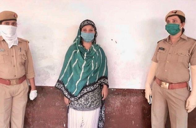 Heer Khan Who Posted Blasphemous Videos Against Hindu Gods And Goddesses Arrested In Prayagraj