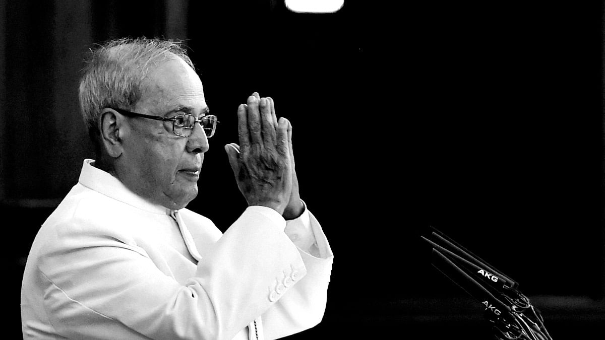 Former President Of India Pranab Mukherjee Dead