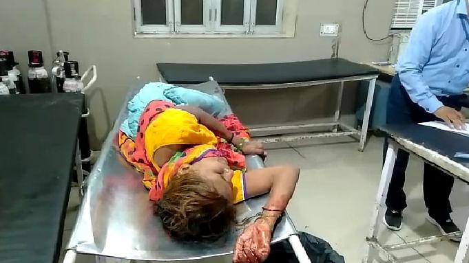 मैनपुरी में जमीन के लालच में युवक ने दादा, दादी को मारी गोली