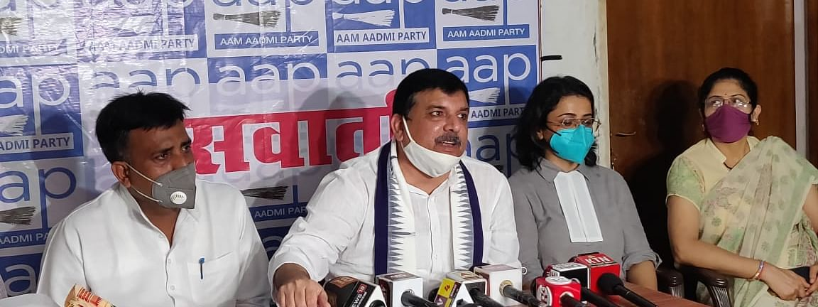 A Jittery Yogi Government Slapping Cases On Me, This Cannot Deter Me: Sanjay Singh