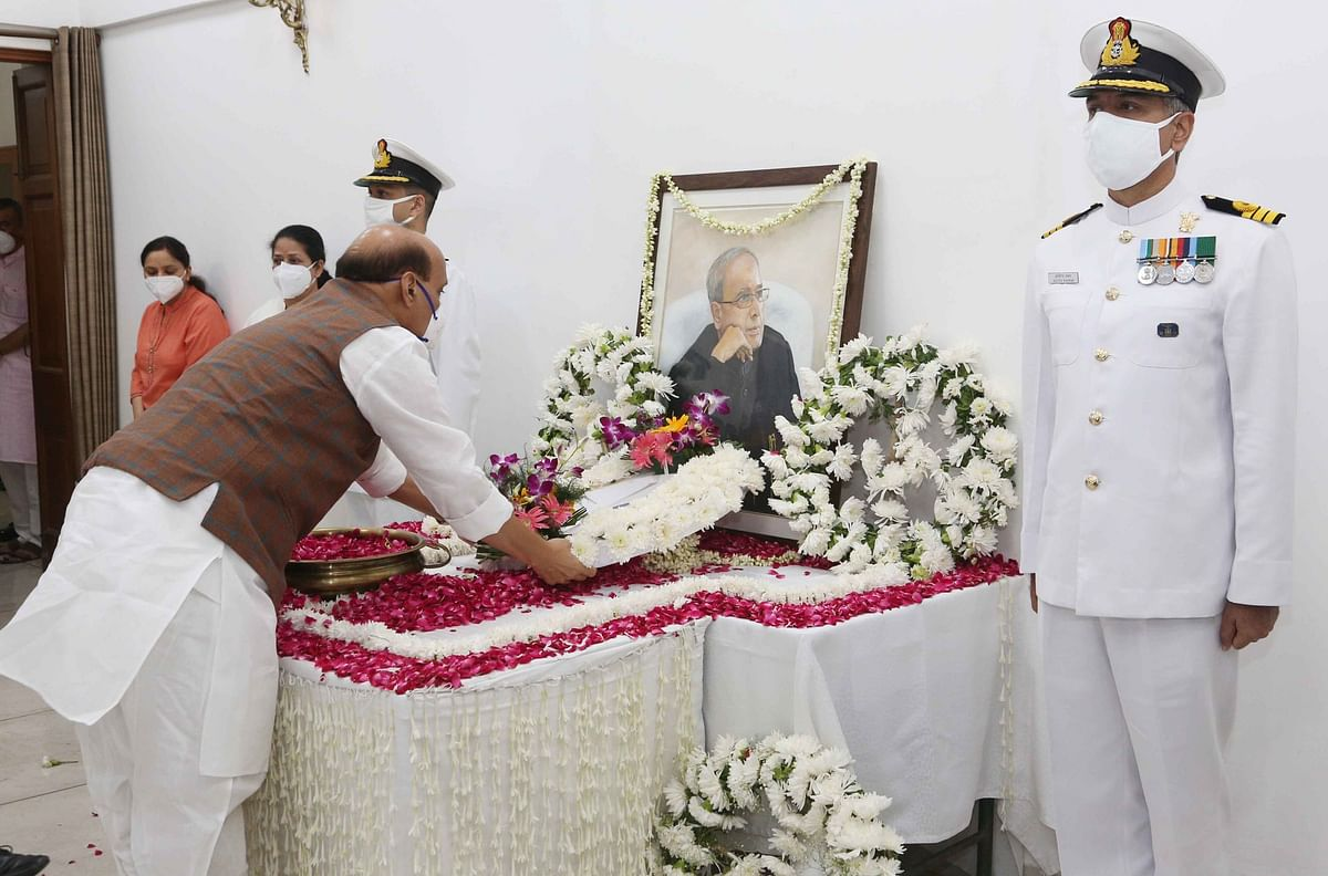 Union Cabinet Condoles The Demise Of Pranab Mukherjee, Two Minutes Silence Observed