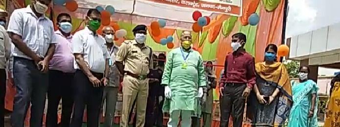 राष्ट्रीय पोषण माह का मैनपुरी में केबिनेट मंत्री राम नरेश अग्निहोत्री ने किया शुभारंभ