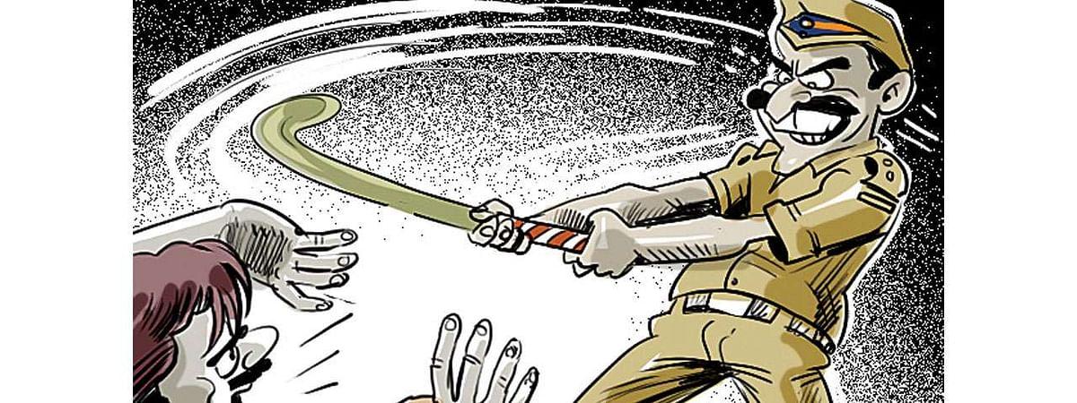 BJP MLA Gets Caught In Traffic Jam, Gunner Rains Lathi's On Hapless Car Owner, Suspended