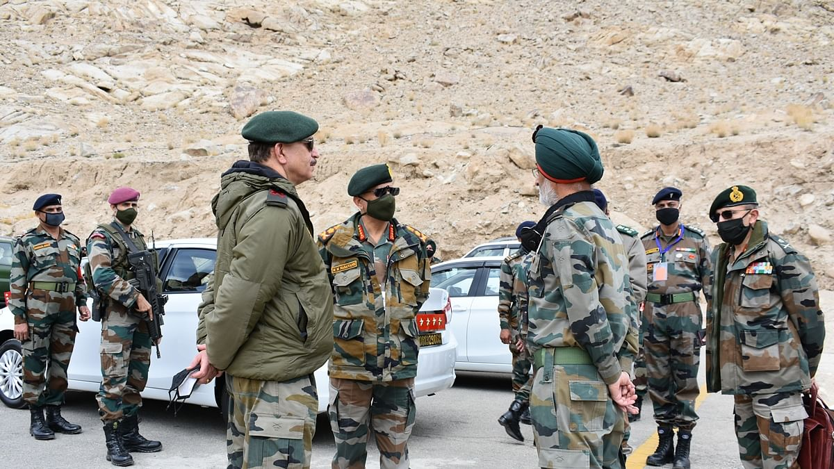 Indian Army Chief Visits Ladakh Amid Growing Tensions With China