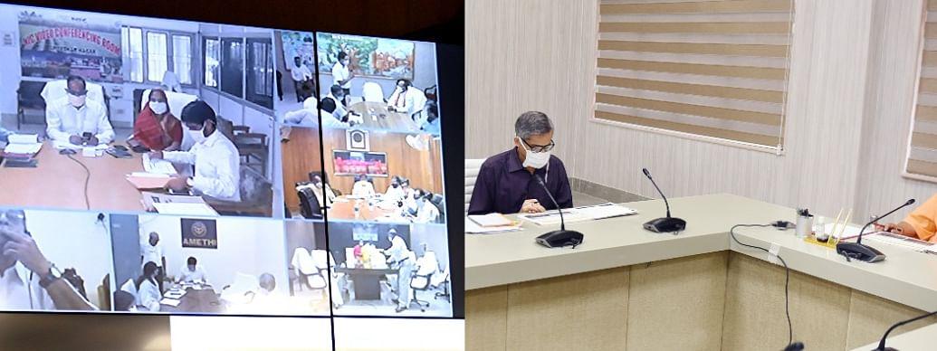 Uttar Pradesh Chief Minister Reviews Development Works Of Ayodhya Division