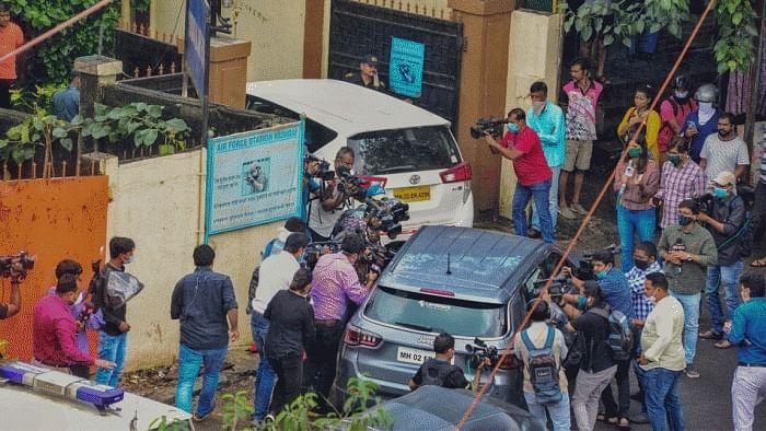 Narcotics Control Bureau Teams Search Residence Of Rhea Chakraborty, Samuel Miranda