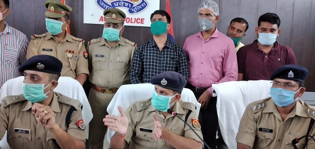 Two Accused In Agra Triple Murder Arrested After Gun Battle, Case Cracked Claims Police