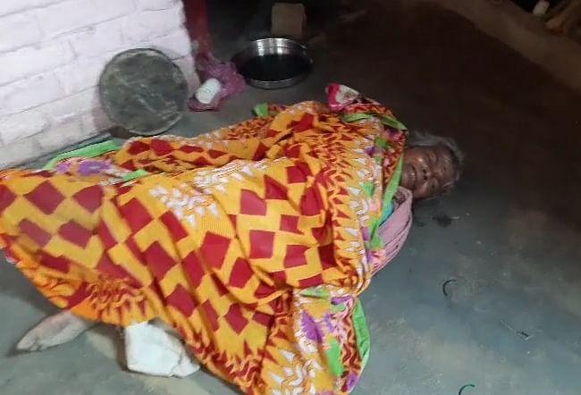 मैनपुरी में वृद्ध महिला की गमछे से गला घोटकर हत्या, पुलिस हत्या की जांच में जुटी