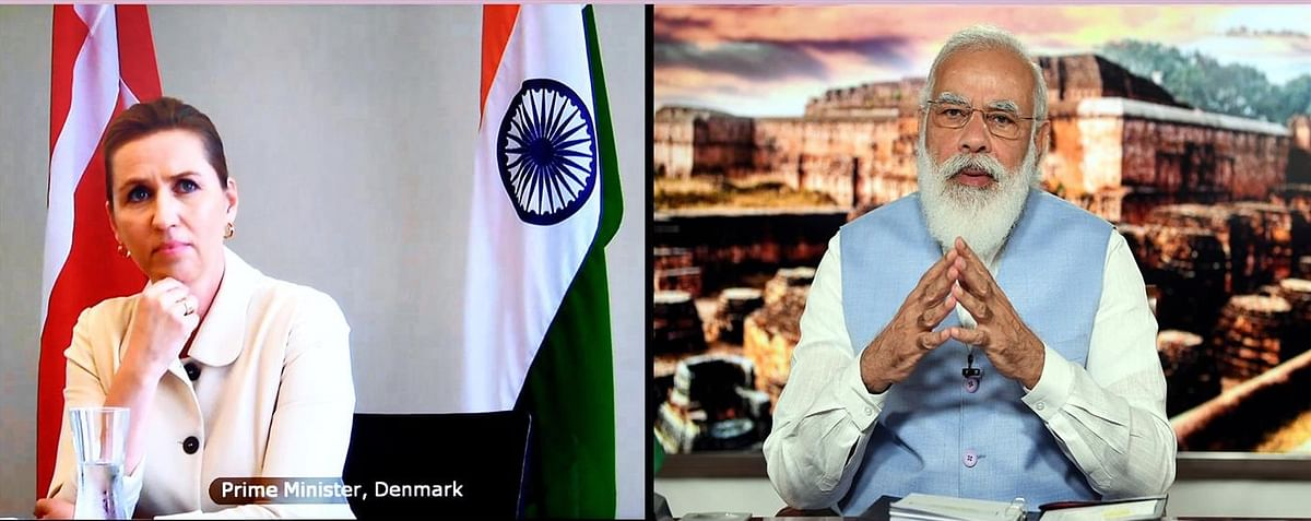 PM Modi, Danish Premier Mette Frederiksen Hold Virtual Bilateral Summit