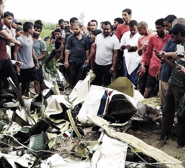 Two-Seater Plane Crashes In UP's Azamgarh, 24-Year-old Pilot Killed