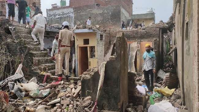 Cracker Stockpiled At Home Explode In Balrampur, One Killed, Two Critically Wounded