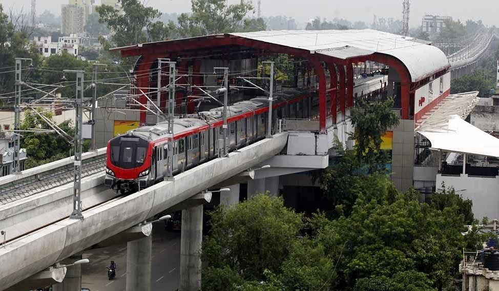 Once Again, Kite Flyers Causes Disruption In Lucknow Metro Rail Services, FIR Lodged