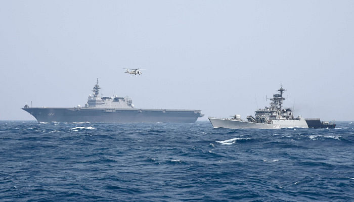 Indo-Japanese Bilateral Maritime Exercise Commences Off West Coast Of India