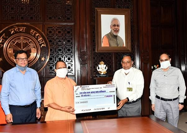 NCL Donates Rs 5 Crores To Uttar Pradesh For Purchase Of 50 Ambulances