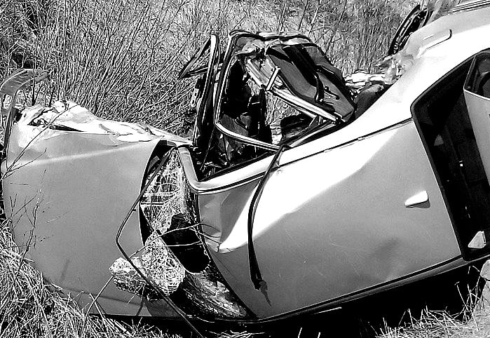 Four Killed, Six Injured In Bahraich As Speeding Car Crashes Into Roadside Tree