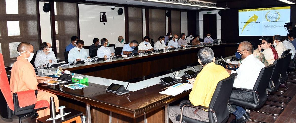 Yogi Adityanath Directs Officials To Simplify Licensing Procedure