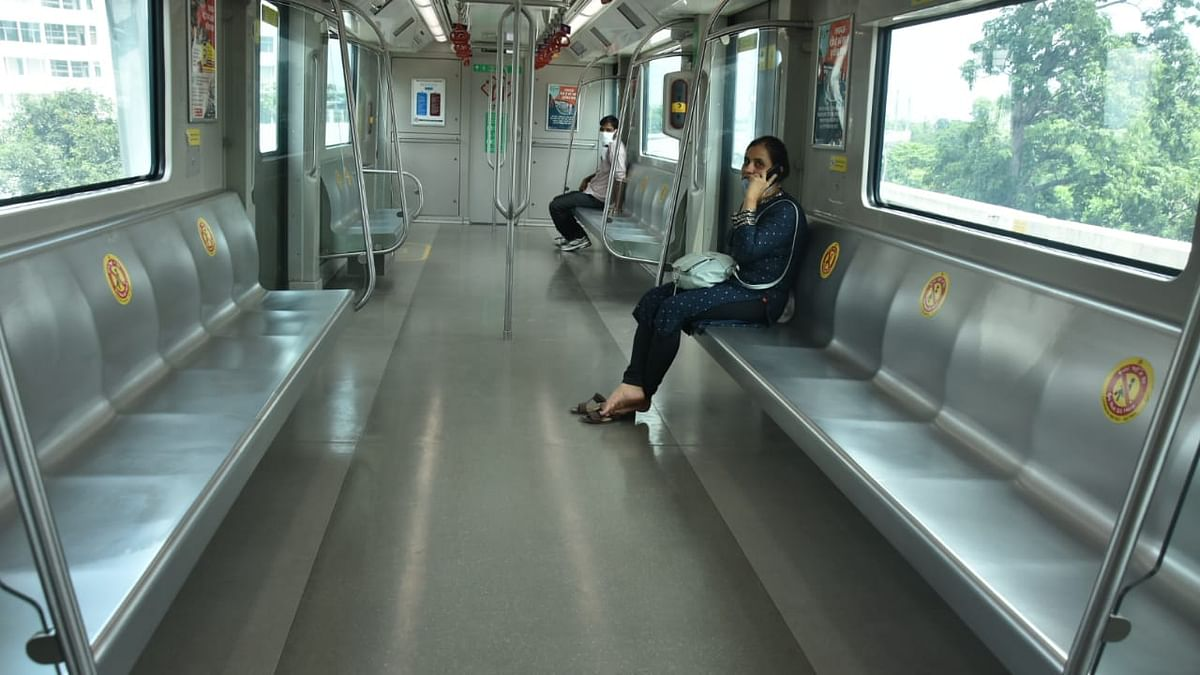 Lucknow Metro Starts Operations, Passengers Still Edgy About Boarding Though