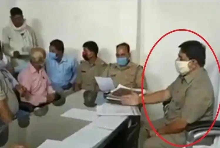 BJP MLA Sits On Police Officials Chair In UP, Leaves Ruling Party Red-Faced