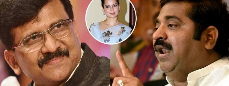 अभिनेत्री कंगना रनौत की सियासी चोट ने भाजपा शिवसेना में करा ही दिया 'दंगल'