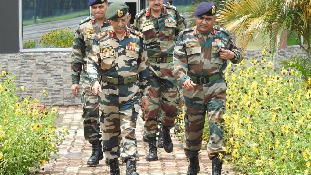 Amid Growing Tension With China On LAC, Army Chief Naravane Reaches Ladakh