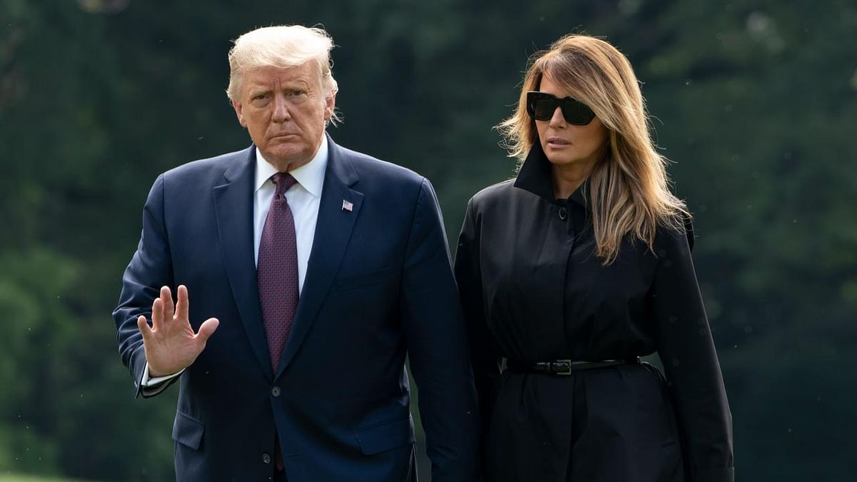 US President Donald Trump, First Lady Melania Trump Test COVID Positive, Quarantined In The White House