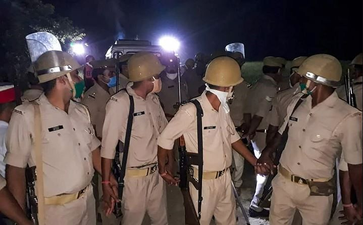 Police Provides Round-The-Clock Security To Family Of Hathras Victim