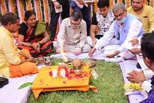 Ground Breaking Of 100 Bedded New ESIC Hospital At Bareilly